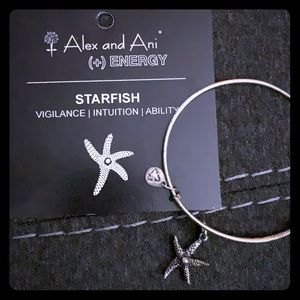 Starfish Alex & Ani - Silver